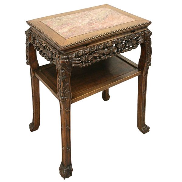 Chinese Side Table.Large Rectangular Chinese Side Table Georgian Antiques