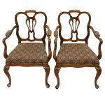 Pair of Elbow Chairs 19373