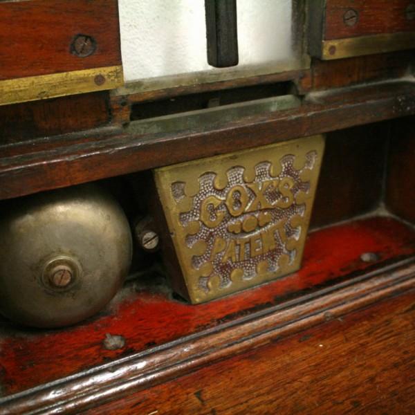 Victorian Mahogany Ticket Dispenser Georgian Antiques