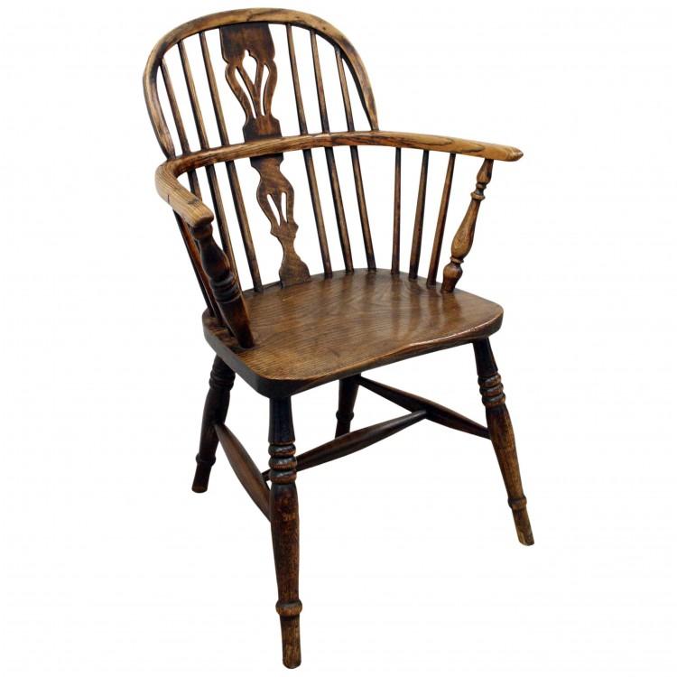 Victorian Elm Windsor Chair