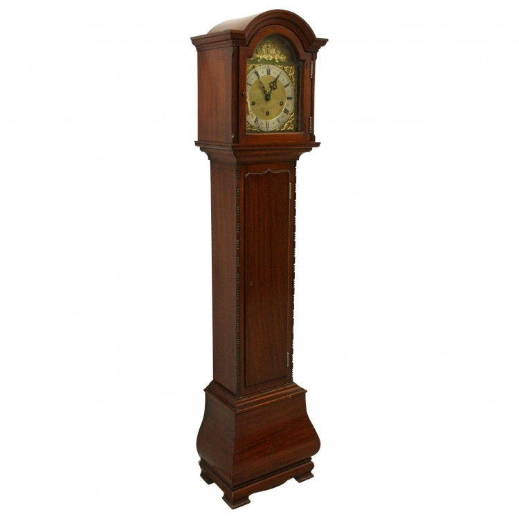 Mahogany Grandmother Clock Georgian Antiques