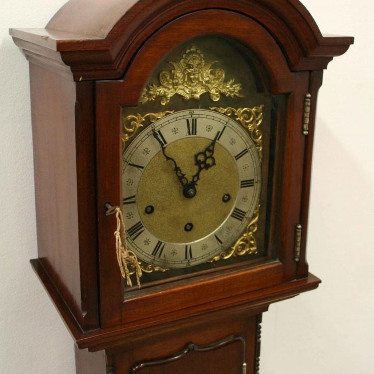 Mahogany Grandmother Clock Georgian Antiques