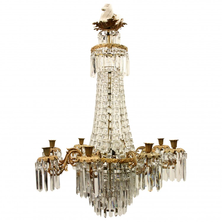 Late victorian glass chandelier georgian antiques late victorian glass chandelier mozeypictures Image collections