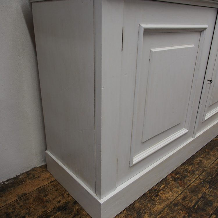 Painted Pine Kitchen Cabinets: Painted Yellow Pine Cabinet Bookcase