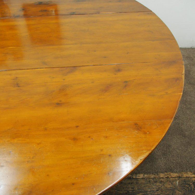 yew dining room furniture | Yew Wood Gateleg Dining Table - Georgian Antiques