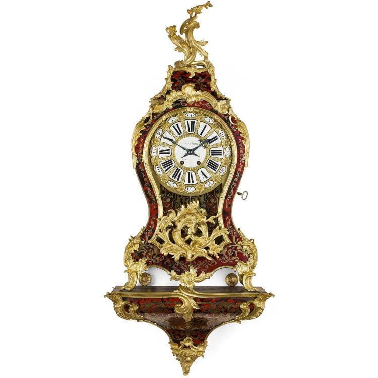 Antique Boulle Clock